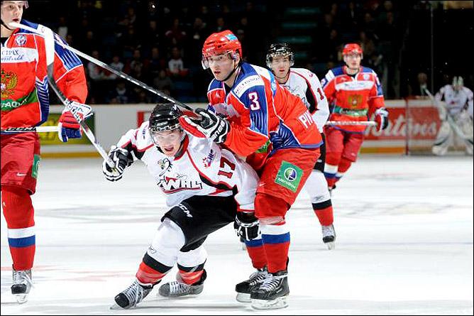 Канада WHL - Россия U-20 - 2:5. Фото 04.