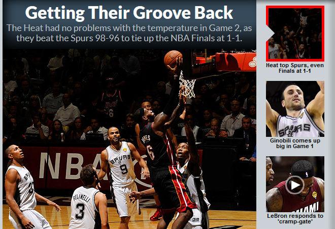 Sports Illustrated: «Возвращая утраченный блеск»