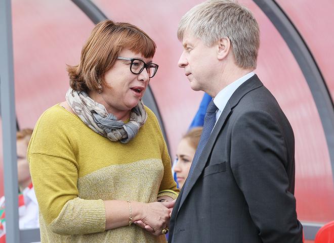Ольга Смородская с Николаем Толстых