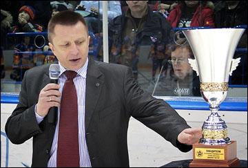 Директор по проведению соревнований МХЛ Игорь Ромашин