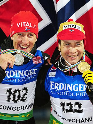 Ларс Бергер и Уле-Эйнар Бьорндален из-за отказа транспондеров едва не остались без медалей