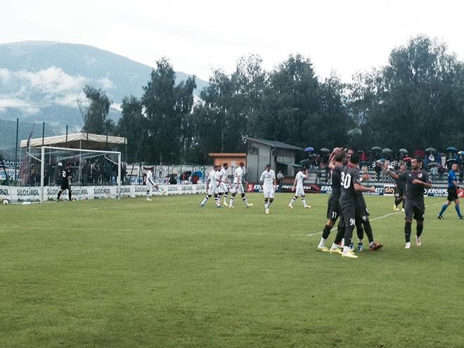 Контрольный матч. «Рубин» — «Торино» — 1:0. Только что казанцы забили мяч в ворота итальянского клуба