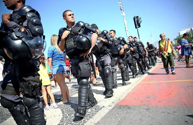 На «Маракане» повышенные меры безопасности