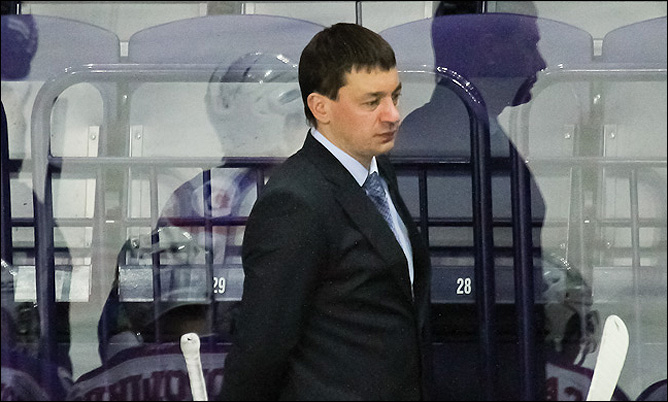"Андрей Тарасенко, главный тренер ""Сибири"""