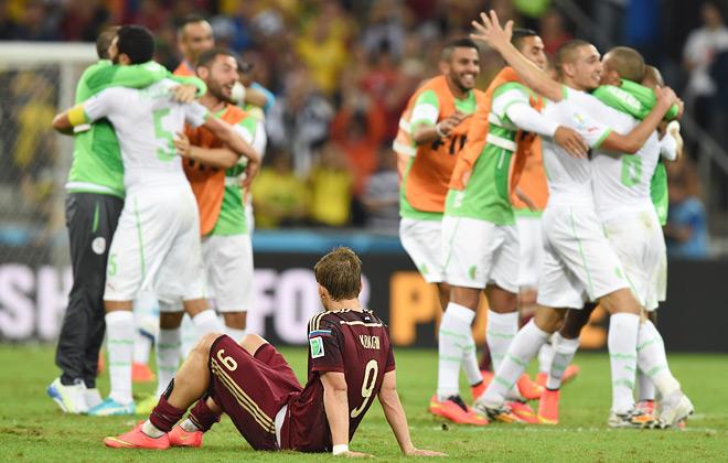 Увы, российская сборная не сумела победить команду Алжира…