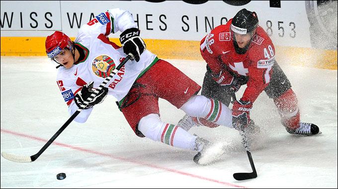 6 мая 2012 года. Хельсинки. Чемпионат мира. Групповой турнир. Швейцария — Белоруссия — 3:2