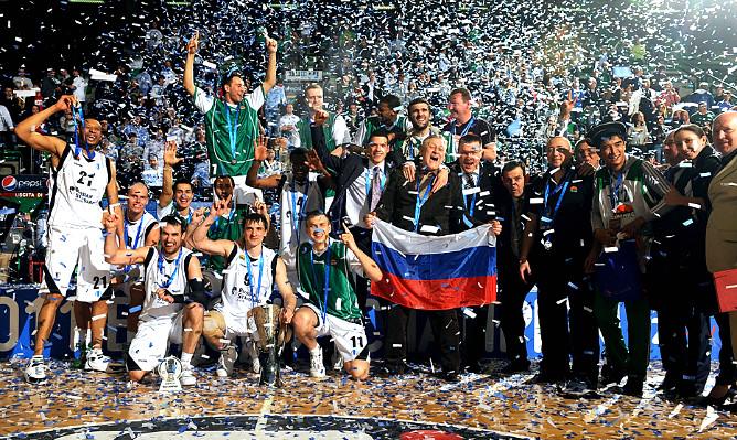 УНИКС – обладатель Кубка Европы сезона-2010/11