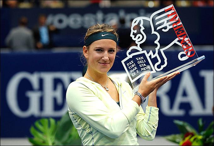 Виктория Азаренко довела серию побед до 12 матчей, попутно выиграв титул в Линце.