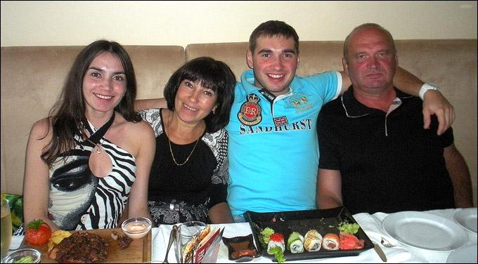 Никита Пивцакин в своей семье