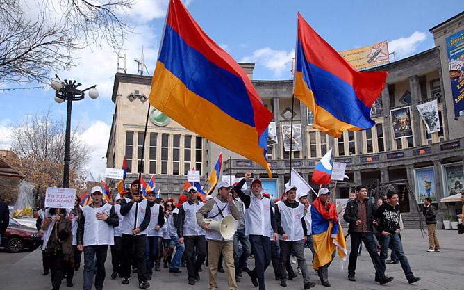 25 марта 2011 года. Ереван.