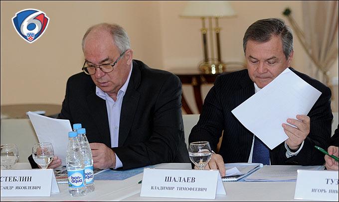 Александр Стеблин и Владимир Шалаев