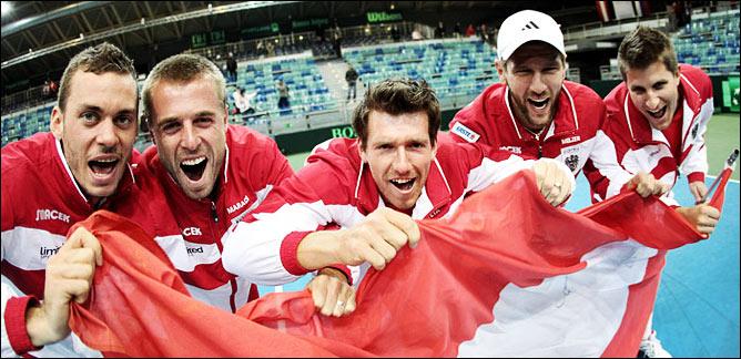 Празднования австрийской команды
