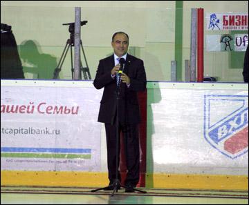 Урпавляющий директор ВХЛ Герман Скоропупов
