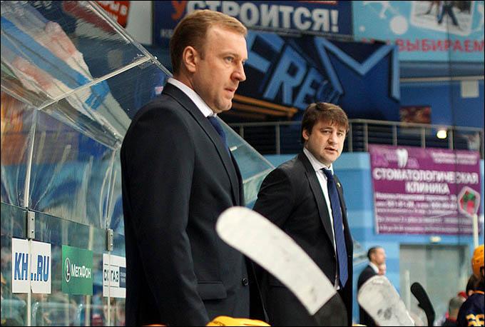 Вадим Епанчинцев (слева)