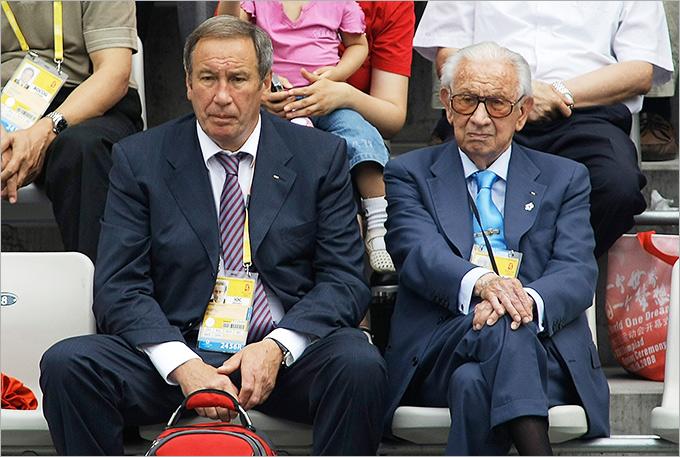 Шамиль Тарпищев и 7-й президент МОК Хуан-Антонио Самаранч