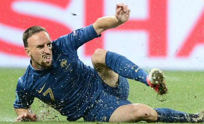 Франк Рибери — главная звезда сборной Франции