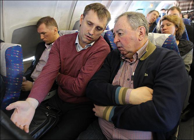 Кестутис Кемзура и Виктор Бычков