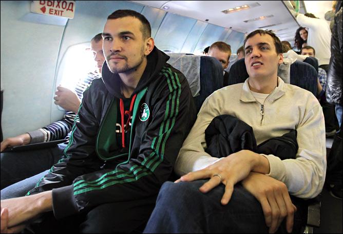Рамунас Шишкаускас, Алексей Жуканенко и Александр Каун