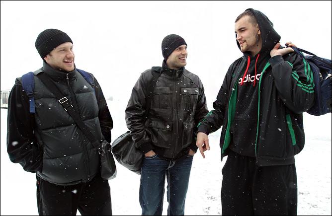 Евгений Воронов, Сергей Моня, Алексей Жуканенко