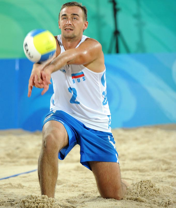 Дмитрий Барсук на Олимпиаде 2008 в Пекине
