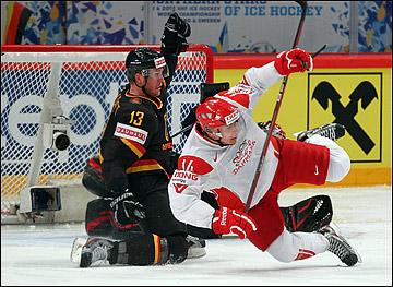 Кирилл Старков против сборной Германии