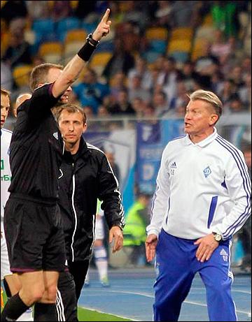 Олег Блохин не сумел сдержать эмоций