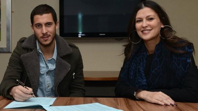 Эден Азар подписал контракт с «Челси»