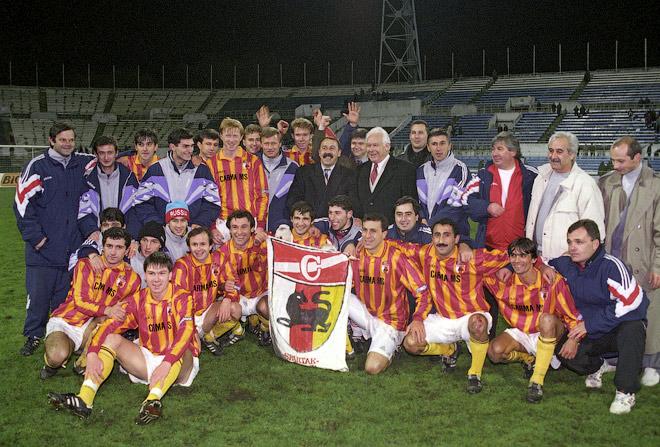 «Алания» — чемпион России 1995 года