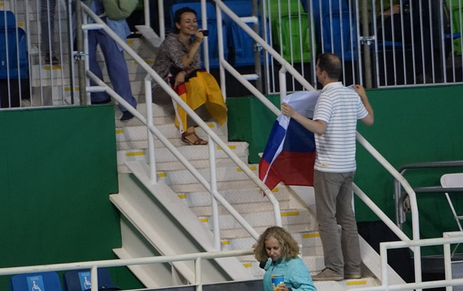 Фотография с флагом