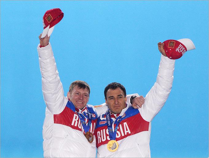 Победа двойки Александра Зубкова в бобслее