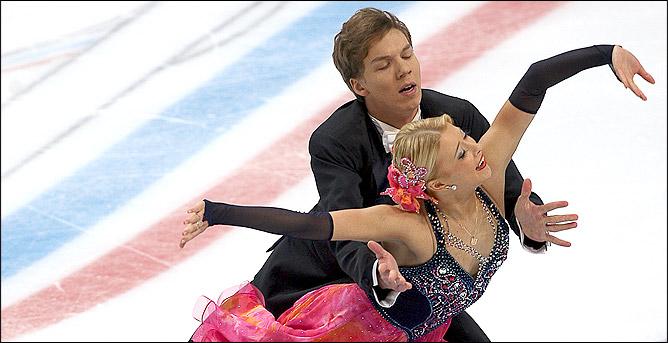 Екатерина Боброва и Дмитрий Соловьёв