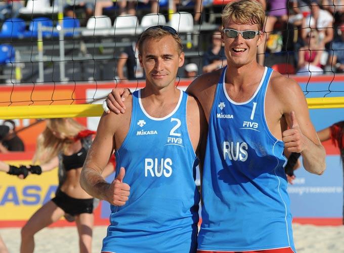 Дмитрий Барсук и Юрий Богатов на Кубке мира 2012 в Москве