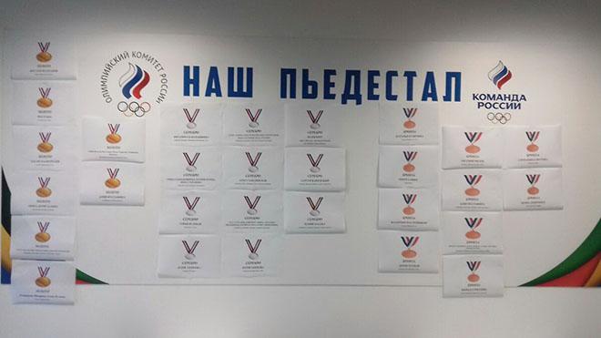 Наши медали