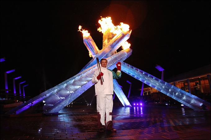 Ванкувер-2010. Кто еще мог зажигать огонь канадской Олимпиады?