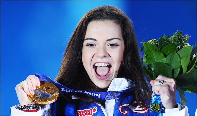 Победа Аделины Сотниковой в личном турнире фигуристок
