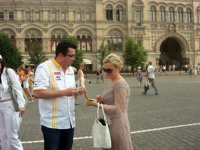 Оксана Косаченко и Эрик Буйе