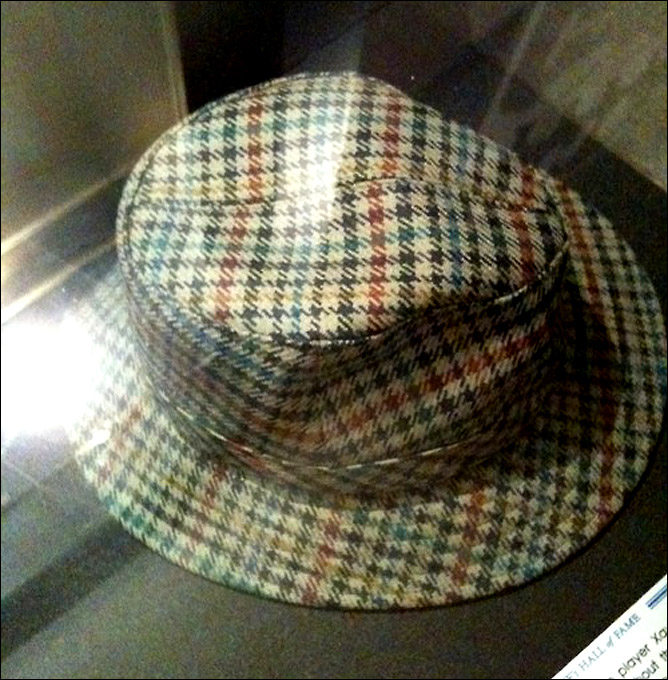 Легендарная шляпа Унзинна – экспонат зала славы немецкого хоккея