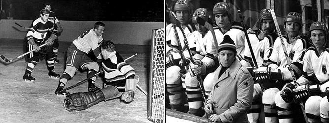 Последний матч в роли игрока (крайний слева). И первый матч в роли тренера сборной (еще без легендарной шляпы)