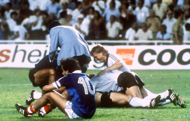 ЧМ-1982. Франция — ФРГ