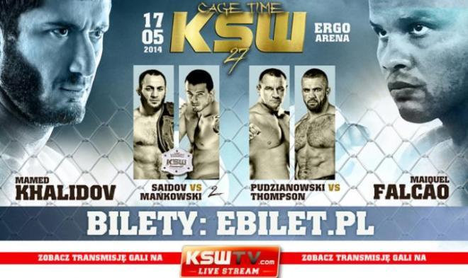 Постер к турниру KSW 27