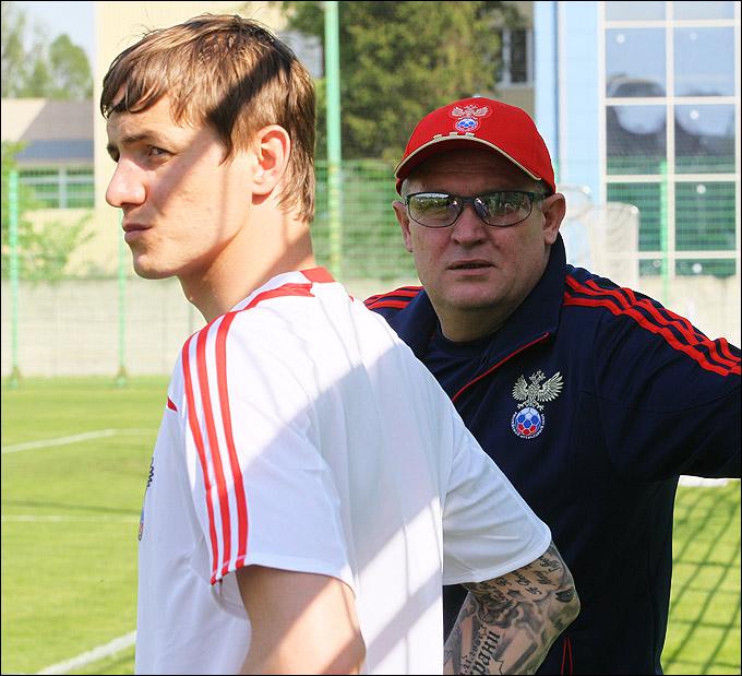 Роман Павлюченко и Юрий Красножан