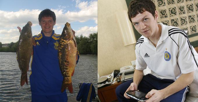 На сборах — игры, в отпуске — рыбалка