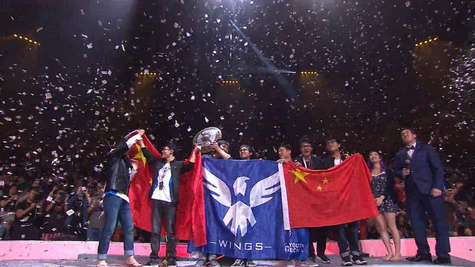 Wings Gaming — действующие чемпионы мира