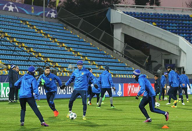 Тренировка «Атлетико»