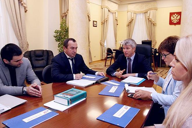 Заседание в Министерстве спорта РФ