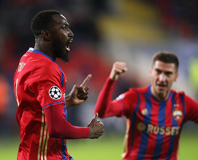 ЦСКА – «Монако» – 1:1. После гола Траоре