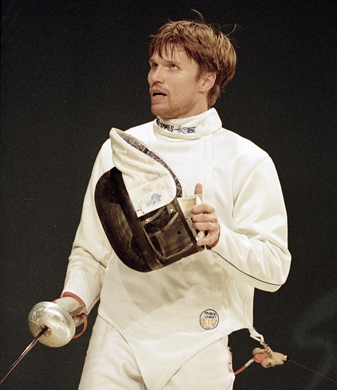 Олимпийский чемпион по фехтованию Павел Колобков