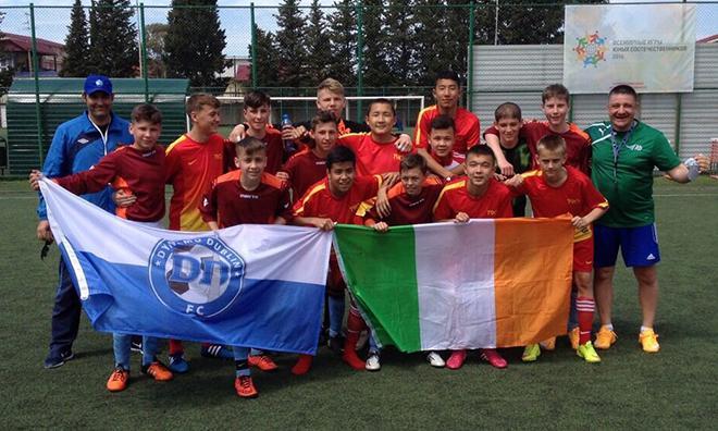 Дублинское «Динамо» на турнире в Сочи