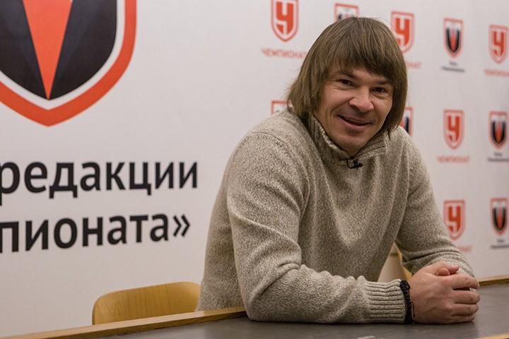 Дмитрий Лоськов в гостях у «Чемпионата»