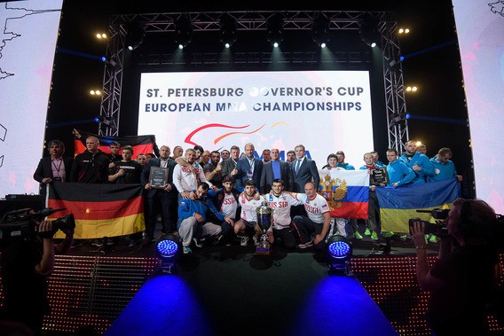 Россия выиграла чемпионат Европы по ММА